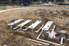 Oakvale Farm plumbing groundwork 5