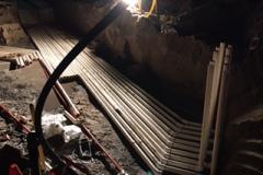 Oakvale Farm plumbing groundwork 10